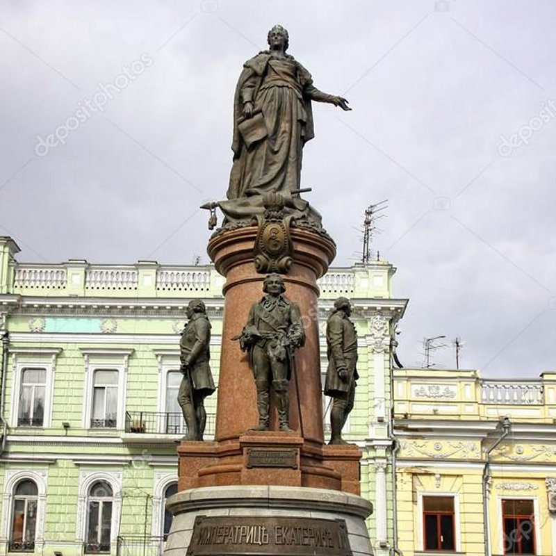 Founders of Odessa MOnument
